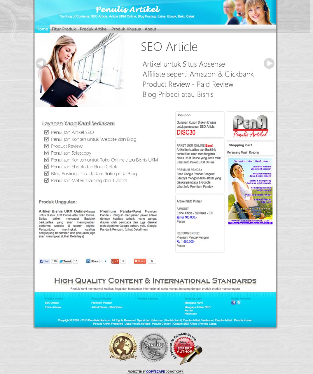 Jasa Pembuatan Website Wordpress Ecommerce