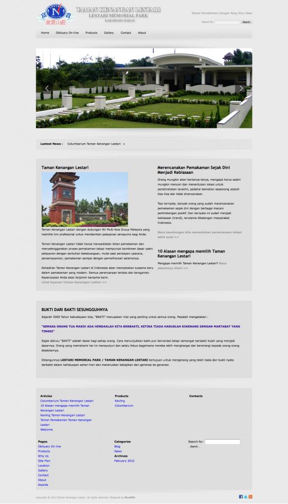 Jasa Pembuatan Website Wordpress Business Profile