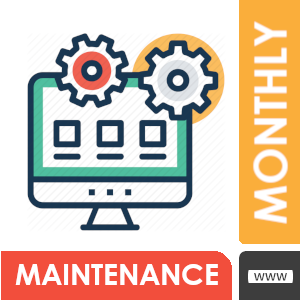 Monthly Web Maintenance