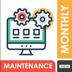 Monthly Web Maintenance