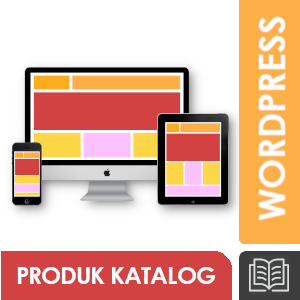 Jasa Pembuatan Website Wordpress; Product Catalogue
