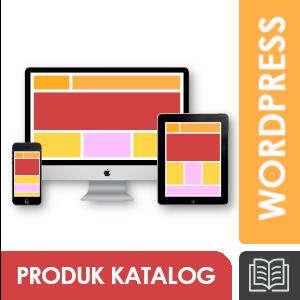 Jasa Pembuatan Website Wordpress; Product Catalogue